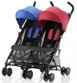 Britax Holiday Double  (Red/Blue mix)