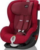 Britax Römer King II LS (Flame Red BLACK SERIES)
