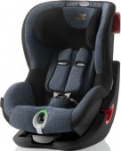 Britax Römer King II LS (Blue Marble BLACK SERIES)