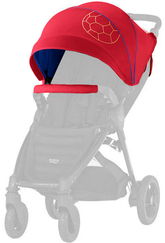 Britax Romer Капор для колясок B-Agile 4 Plus и B-Motion 4 Plus (Football Edition)