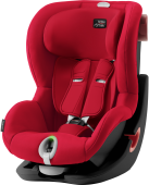 Britax Romer King II LS (Fire Red | Black Series)