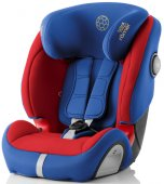 Britax Römer Evolva 1-2-3 SL Sict (Football Edition + сменный чехол Cosmos Black)