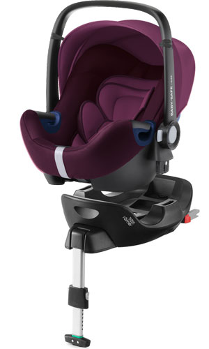 Britax Romer Baby-Safe 2 i-Size с базой Isofix Flex i-Size (Burgundy Red)
