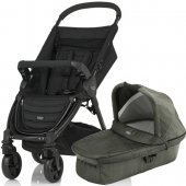 Britax Коляска 2-в-1 B-Agile 4 Plus (Britax Коляска 2-в-1 B-Agile 4 Plus (Olive Denim))