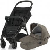 Britax Коляска 2-в-1 B-Agile 4 Plus (Britax Коляска 2-в-1 B-Agile 4 Plus (Khaki Denim))