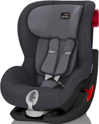 Britax Romer King II (Storm Grey | Black Series)